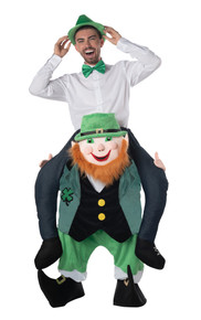 Carry Me Leprechaun Adult Costume