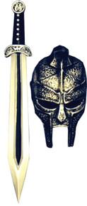 Gladiator Mask & Sword Set
