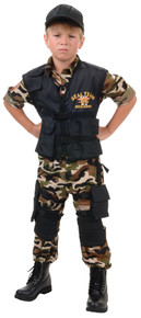 Seal Team Deluxe Child Costume