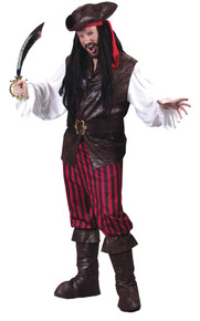 High Sea's Buccaneer Adult Costume