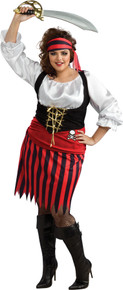 Pirate Plus Size Woman's Costume
