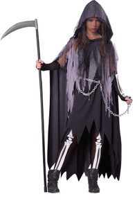 Girl's Miss Reaper Costume