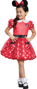 Red Minnie Mouse Costume Toddler