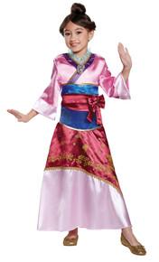 Girl's Mulan Deluxe Costume