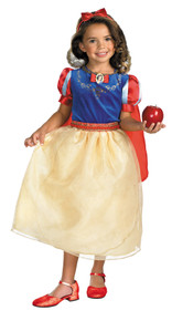 Girl's Snow White Deluxe Costume