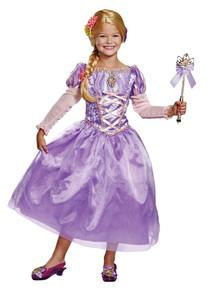 Girl's Rapunzel Deluxe Costume