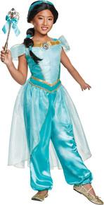Girl's Jasmine Deluxe Costume