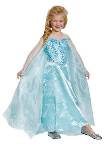 Girl's Elsa Prestige Costume - Frozen