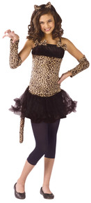Wild Cat Girls' Costume