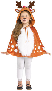 Deer Hooded Cape Toddler