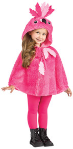 Flamingo Hooded Cape Toddler