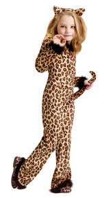 Pretty Leopard Girl's Costume Large