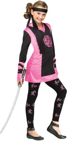Dragon Ninja Girl Costume Large