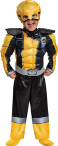 Gold Ranger Muscle Toddler Costume - Beast Morphers