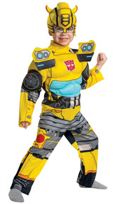 Boy's Bumblebee EG Muscle Toddler Costume