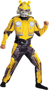 Bumblebee Classic Muscle Costume Child - Transformers Movie