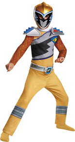 Gold Ranger Classic Costume  Child- Dino Charge