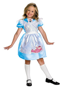 Girl's Alice Classic Costume - Alice In Wonderland