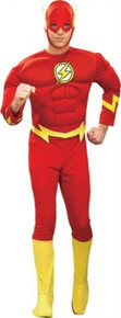 FLASH DLX MUSCLE COSTUME ADULT