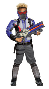 Boy's Soldier: 76 Classic Muscle Costume - Overwatch