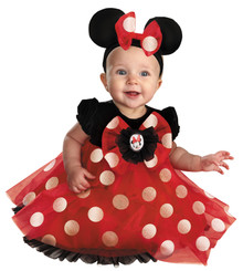 Red Minnie Deluxe Toddler Costume