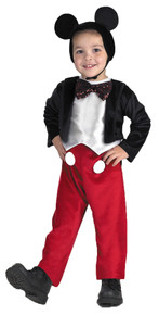 Boy's Mickey Mouse Deluxe Toddler Costume