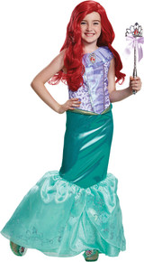 Girl's Ariel Deluxe Costume - The Little Mermaid