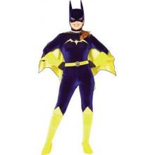 Batgirl Costume Velvet Adult