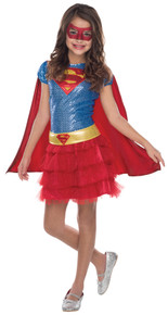 Girl's Supergirl Tutu Dress