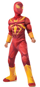 Boy's Deluxe Muscle Chest Iron Spider Costume