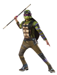 Boy's Deluxe Donatello Costume - Ninja Turtles