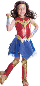 Girl's Deluxe Wonder Woman Movie Costume
