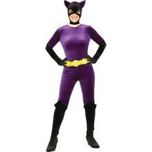 Catwoman Costume Velvet Adult