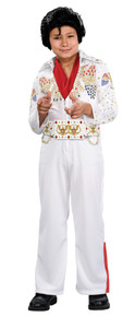 Boy's Deluxe Eagle Jumpsuit Elvis Presley Costume