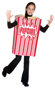 Movie Night Popcorn - Child Costume