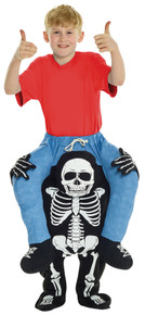 Child's Skeleton Piggyback Costume