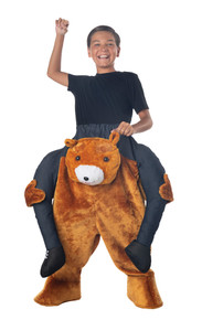 Carry Me Teddy Bear- Child Costume