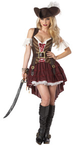 Women's Sexy Swashbuckler Costume