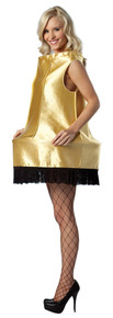 Women's Christmas Lamp Foam Dress