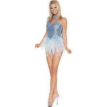 Fairy Blue Glitter Costume