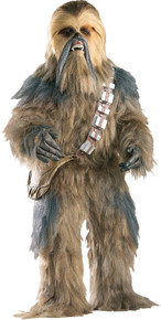 Men's Supreme Edition Chewbacca Costume - Star Wars Classic Std