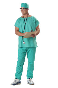 Doctor Scrubs Adult Costume
