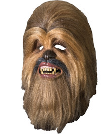 Chewbacca Full Latex Mask - Star Wars Classic