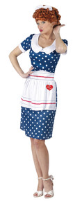 Women's I Love Lucy Sassy Costume