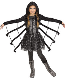 Sparkling Spider Child Costume