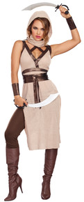 Women's Desert Warrior Woman Costume