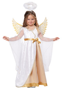 Girl's Sweet Little Angel Toddler Costume