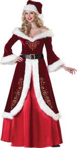 Women's Mrs. St. Nick Costume