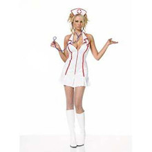 Nurse Head Costume Adult