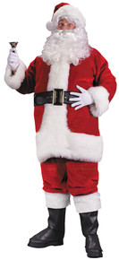 Santa Suit Premium Plush Red